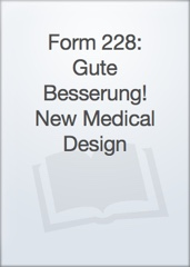 Form 228: Gute Besserung! New Medical Design Image Cover