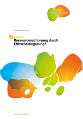 Ressourcenschonung Image Cover